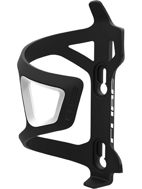 Cube HPP-Sidecage Flaschenhalter schwarz/weiss